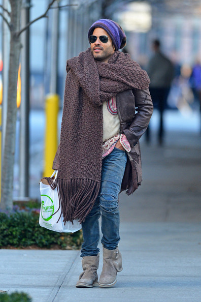 Lenny Kravitz out and about 1