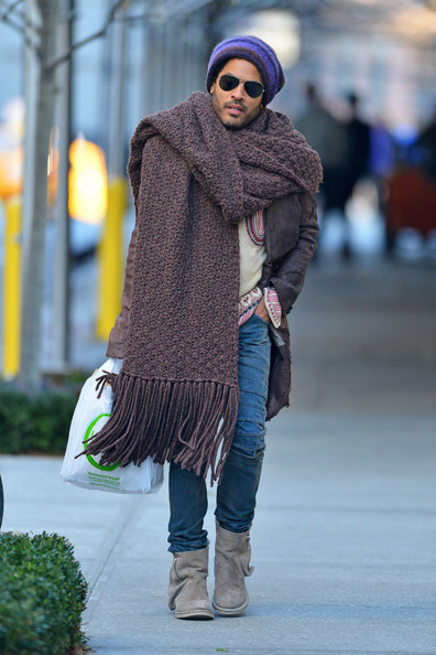 Lenny Kravitz out and about 2