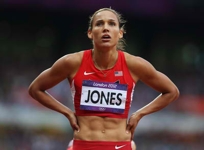 Lolo Jones Bobsled win