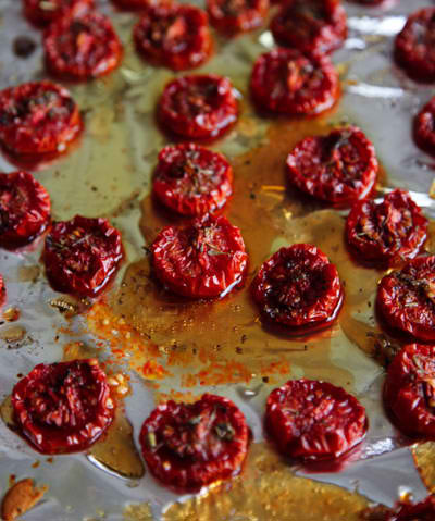 maple syrup roasted tomatoes