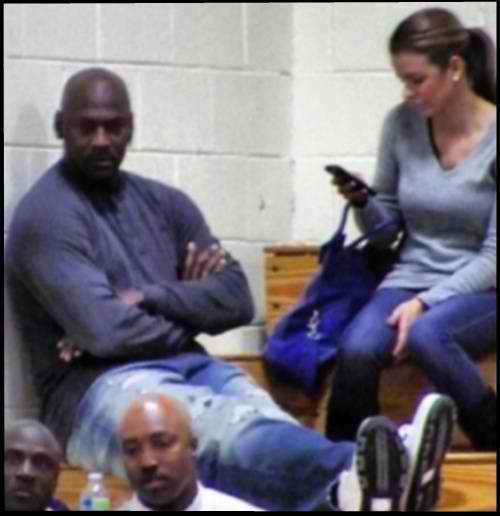 Michael Jordan and Yvette Prieto 2