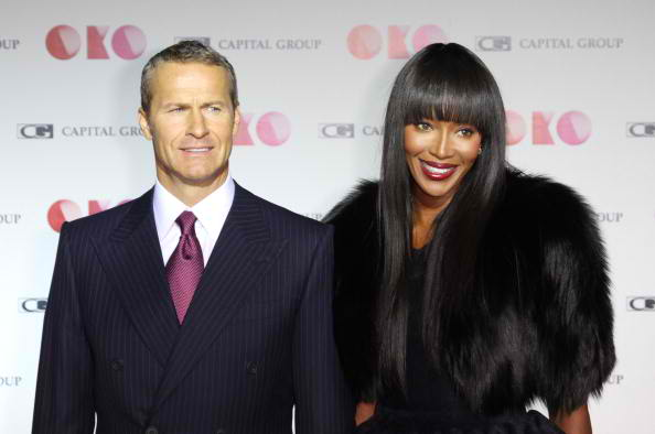 naomi campbell and vladimir doronin - couple