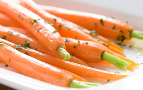 Orange and Honey-Glazed Carrots