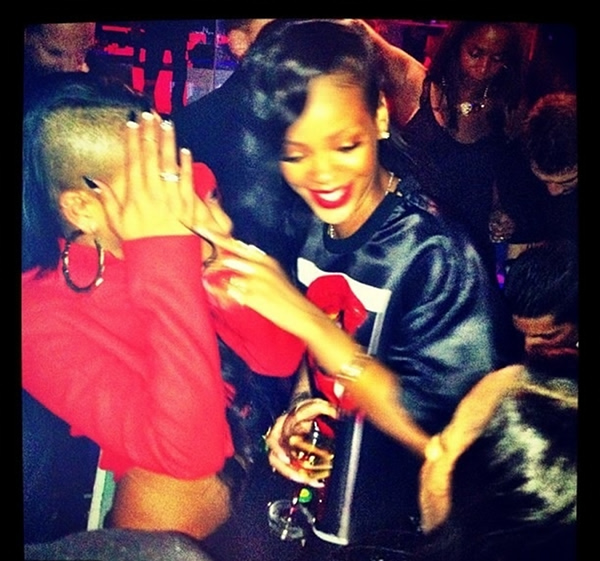 Rihanna in Paris 2