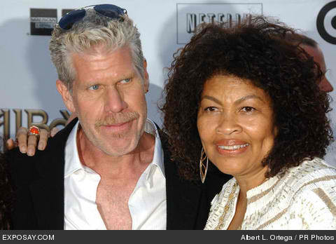 ron perlman and wife 2