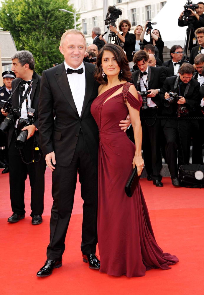 salma hayek and husband