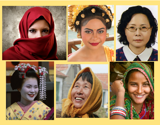 The different faces of Asia