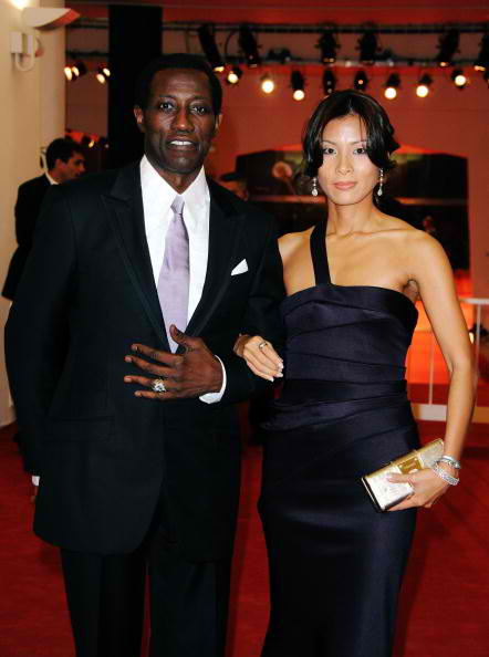 wesley snipes and wife