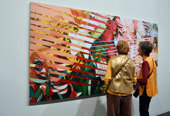 A general view of the Richard Gray Gallery during Art Basel
