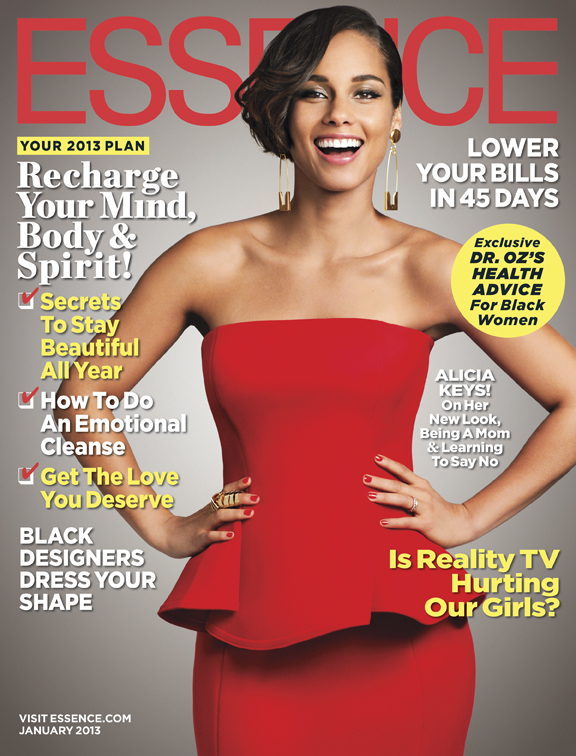 Alicia Keys Essence January 2013