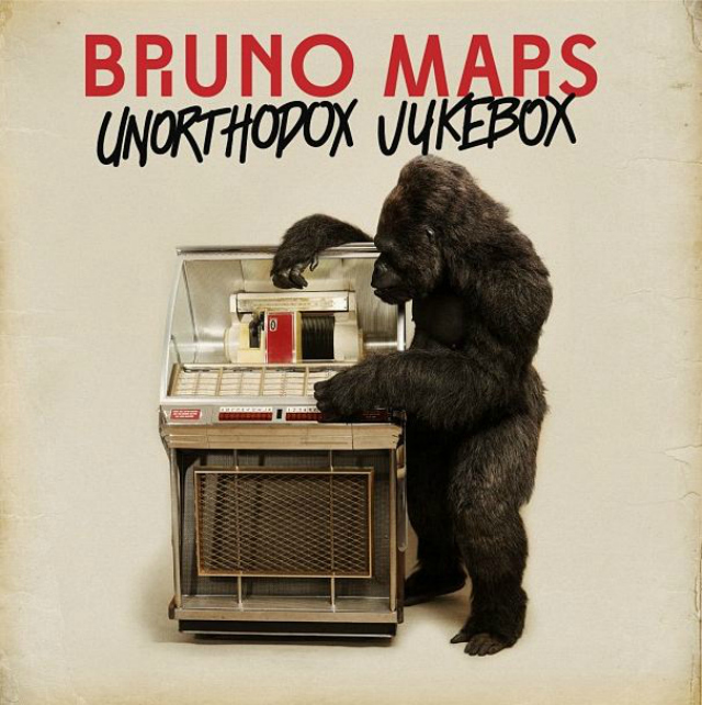 Bruno mars album cover