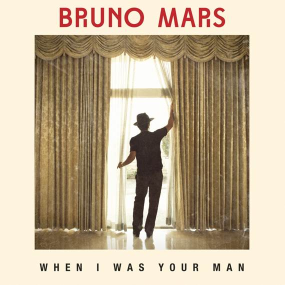 Bruno Mars when I was your man single cover