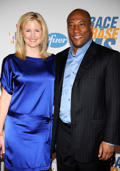 Byron Allen and Jennifer Lucas
