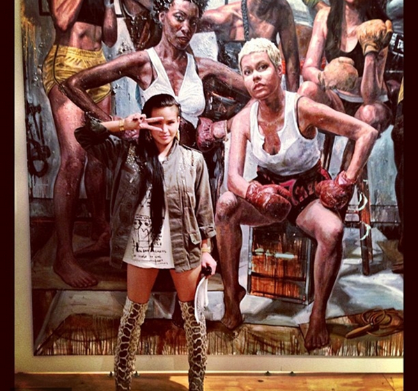 Cassie and Didday Art Basel 3