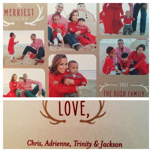 Chris Bosh and family Xmas 2012 2