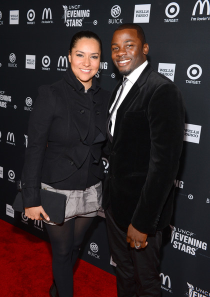 Derek Luke and wife Unicef evening of stars