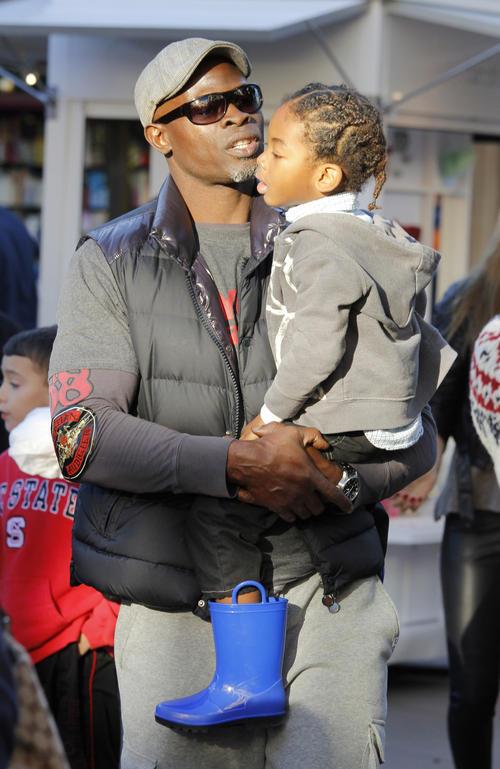Djimon Hounsou and Kenzo Lee 1