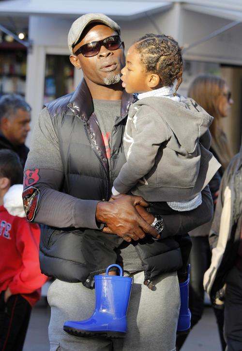 Djimon Hounsou and Kenzo Lee 2