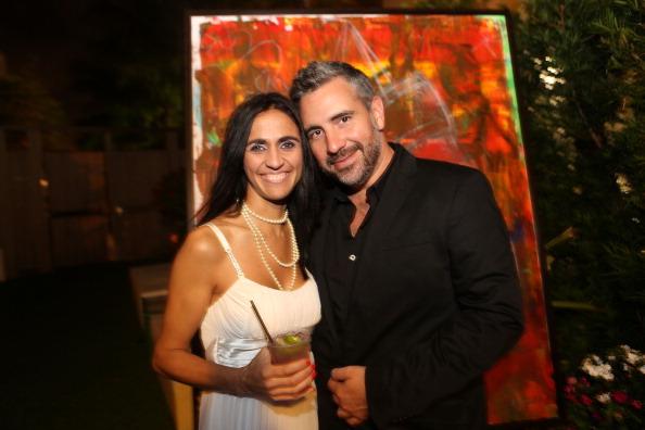 Guests attend Alexander Mijares Art Basel