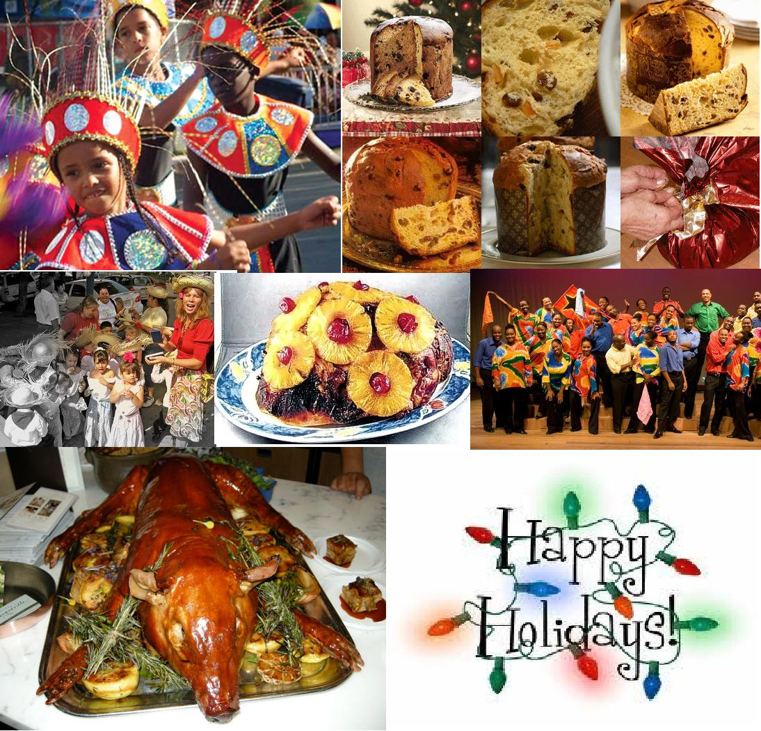 Italian, Puerto Rican and Jamaica Holiday