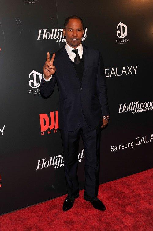 Jamie Foxx Django unchained premiere