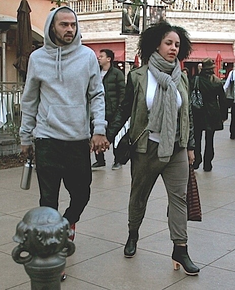 Jesse Williams and wife 1