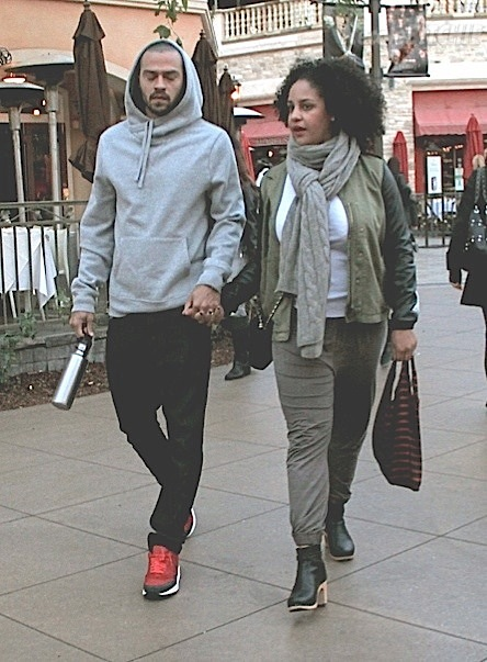 Jesse Williams and wife 2