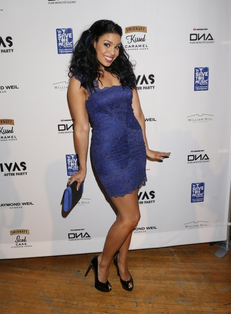 Jordin Sparks vh1 divas after party