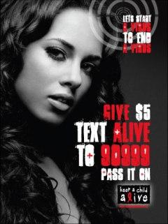 Keep a child alive ambassador Alicia Keys