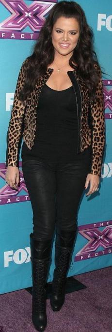 Khlow Kardashian x-factor finale