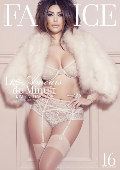 Kim Kardashian Factice photoshoot 1