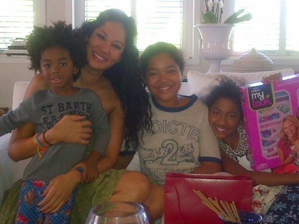 Kimora Lee Simmons and kids St. Barts 2