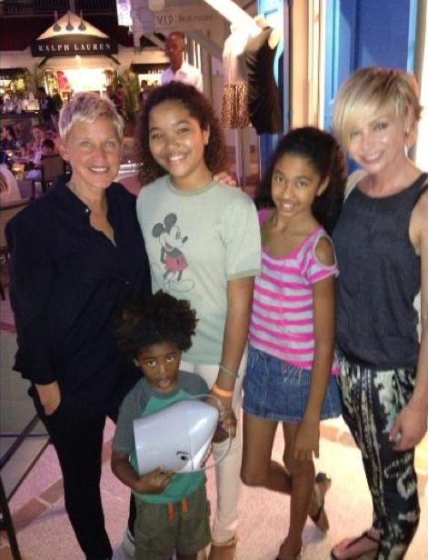 kimora lee simmons and kids st. barts 3