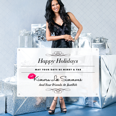 kimora lee simmons xmas 2012