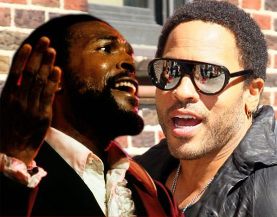 Lenny Kravitz as Marvin Gaye