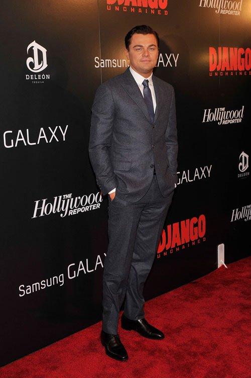 Leonardo Dicaprio Django unchained premiere