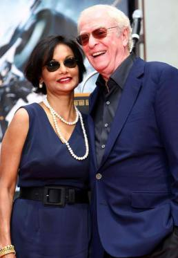 Michael Caine and Shakira Caine