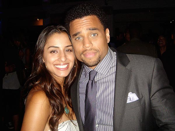 Michael Ealy and Khatira Rafiqzada