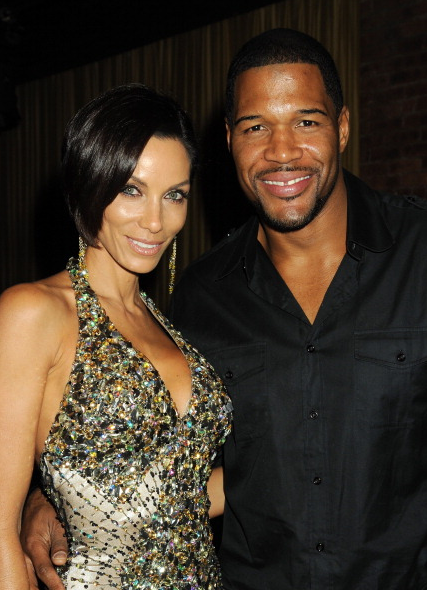 Michael Strahan and Nicole 1