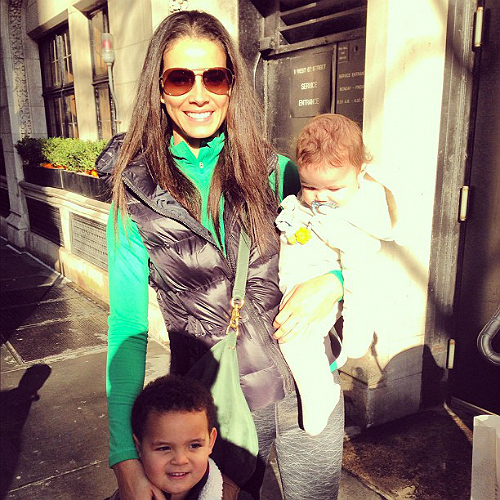 Porschla Kidd and kids