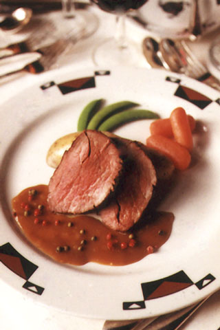 roast tenderloin of beef with jack daniel's