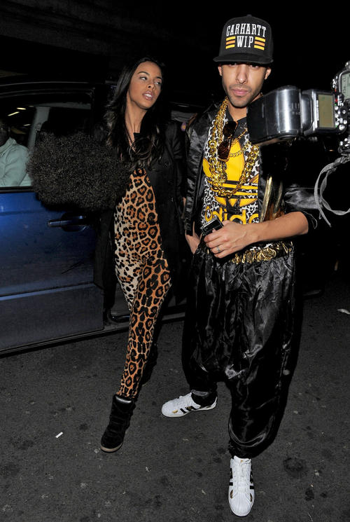 Rochelle and Marvin Humes 5