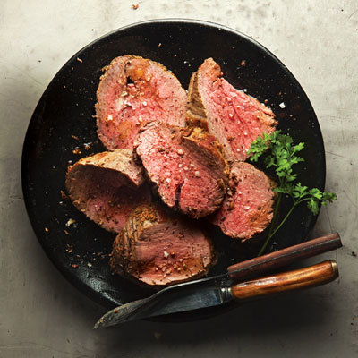 rosemary rubbed beef tenderloin