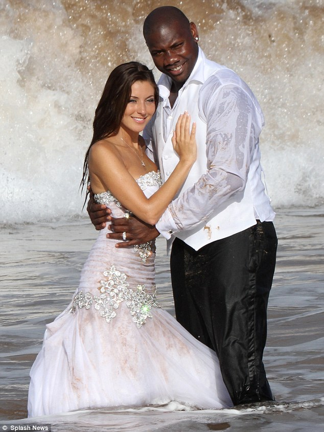 Ryan Howard and Krystal Campbell