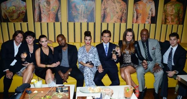 The Kardashians with Kanye West