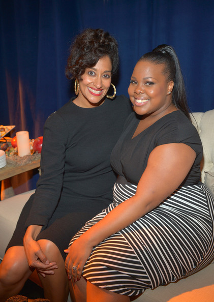 Tracee Ellis Ross and Amber Riley Unicef Evening of Stars