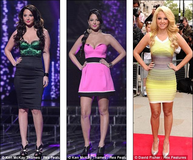 Tulisa Contostavlos fashion evolution