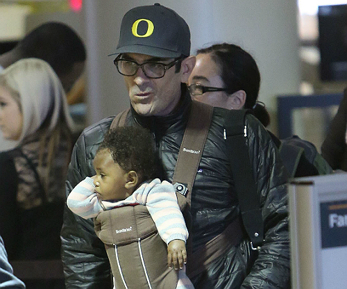 Ty Burrell and daughter Frances 1