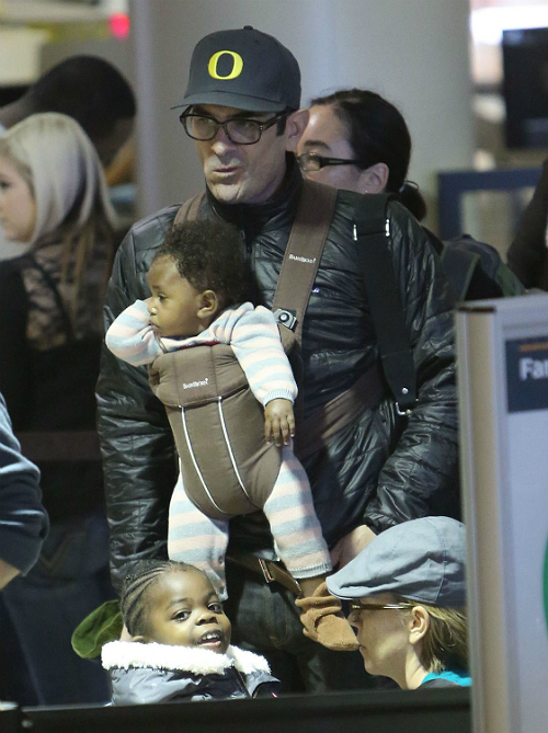 Ty Burrell and daughter Frances 2