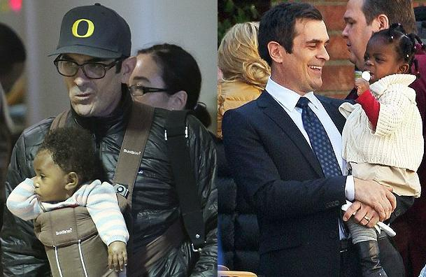 Ty Burrell and daughters
